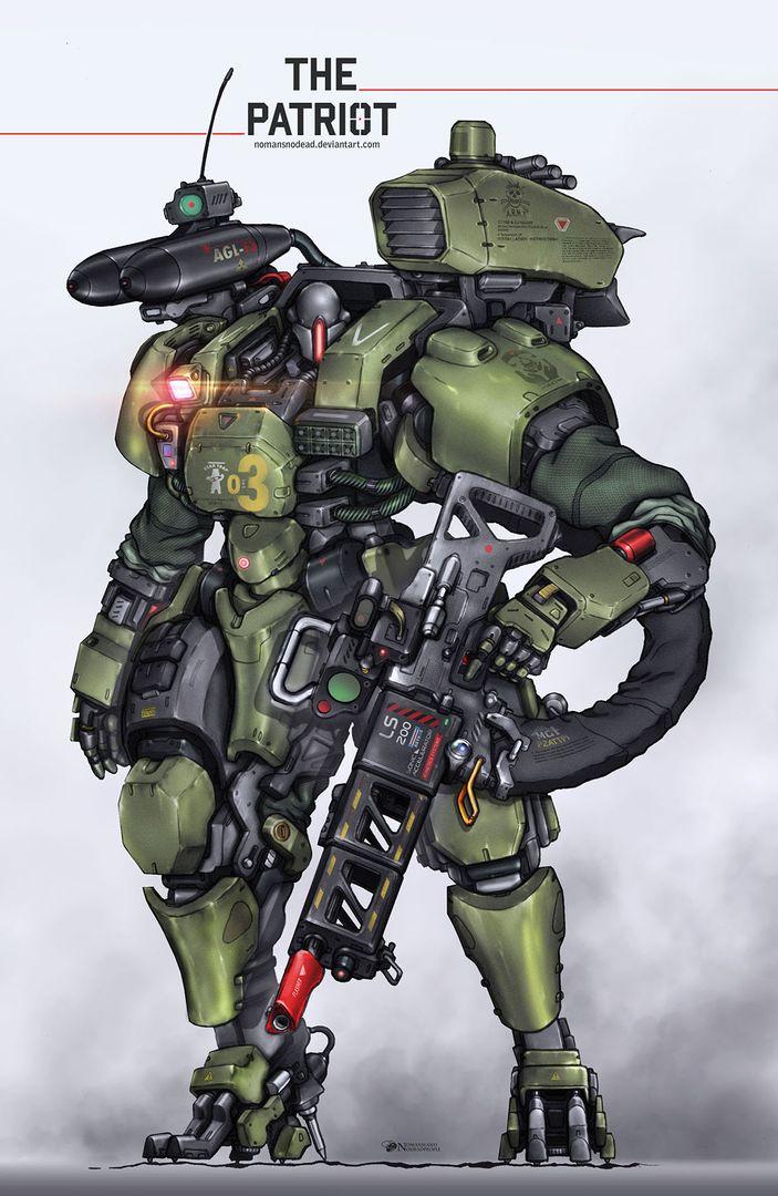 Mechanical design the patriot jpg