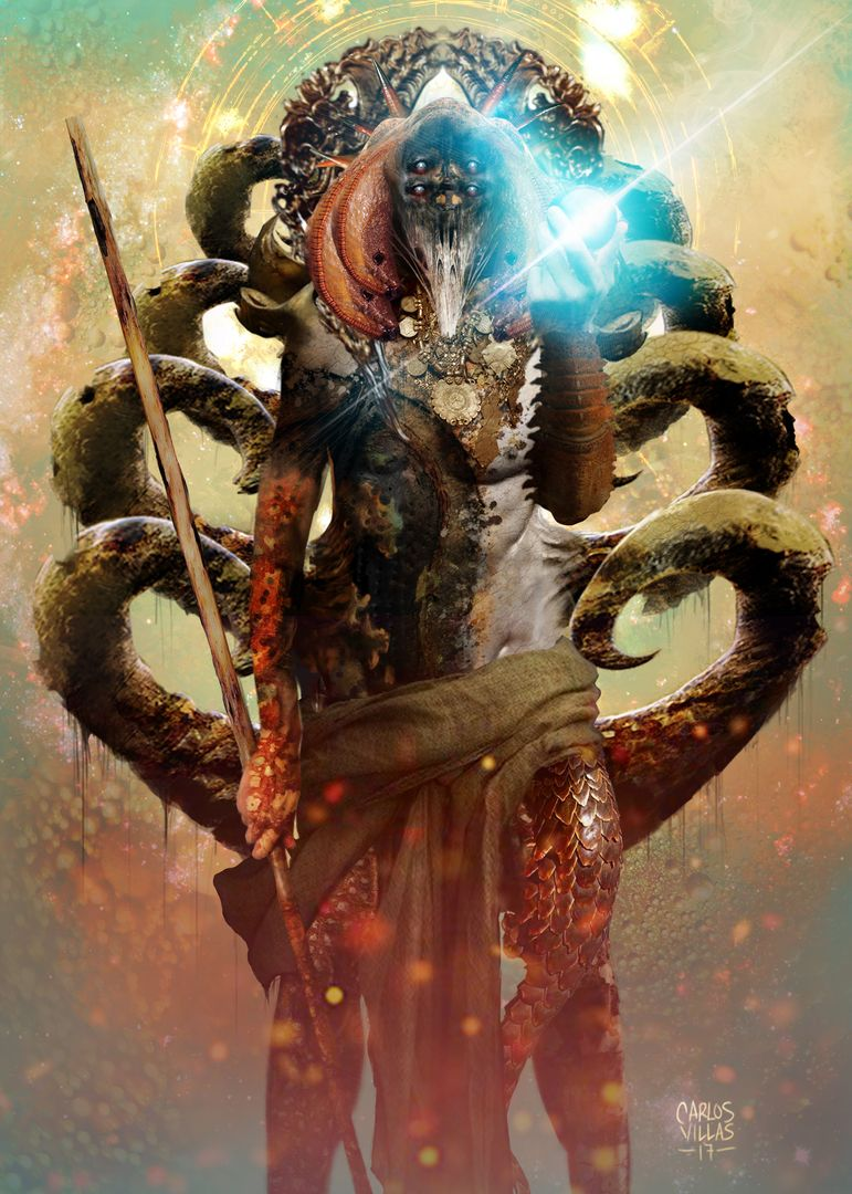ILLUSTRATION, CHARACTER AND CREATURE CONCEPTS CREATURE FACE jpg