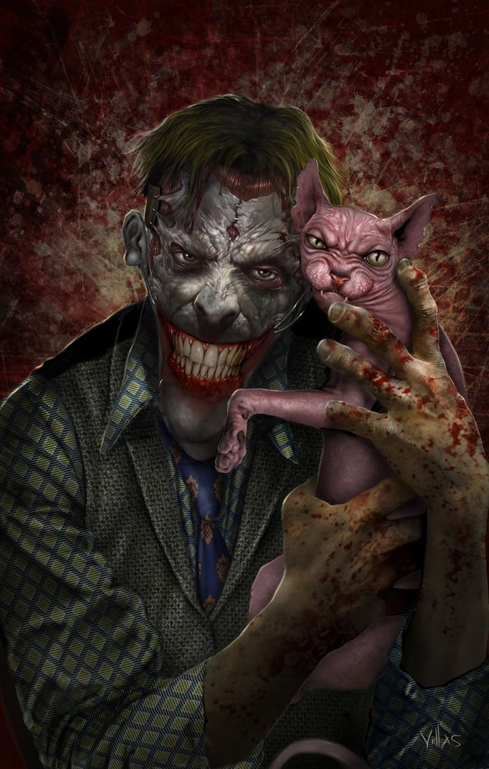 ILLUSTRATION, CHARACTER AND CREATURE CONCEPTS JOKER jpg