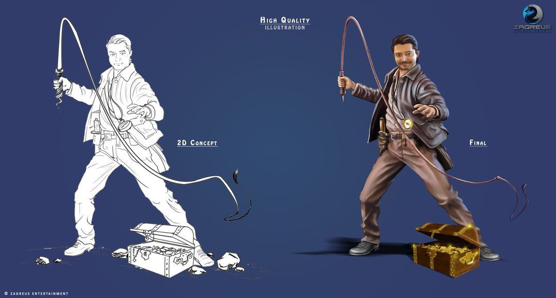 2D Concepts, Sketches & Illustrations Character Design 01 High Quality ZE jpg