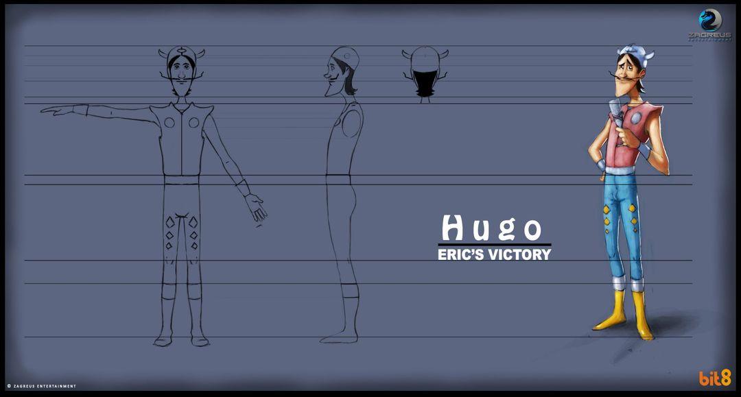 2D Concepts, Sketches & Illustrations Character Design 02 Online Slot Machine Game ZE jpg