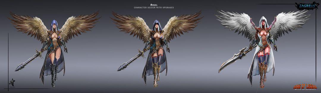 2D Concepts, Sketches & Illustrations Human Angel   Concept ZE jpg