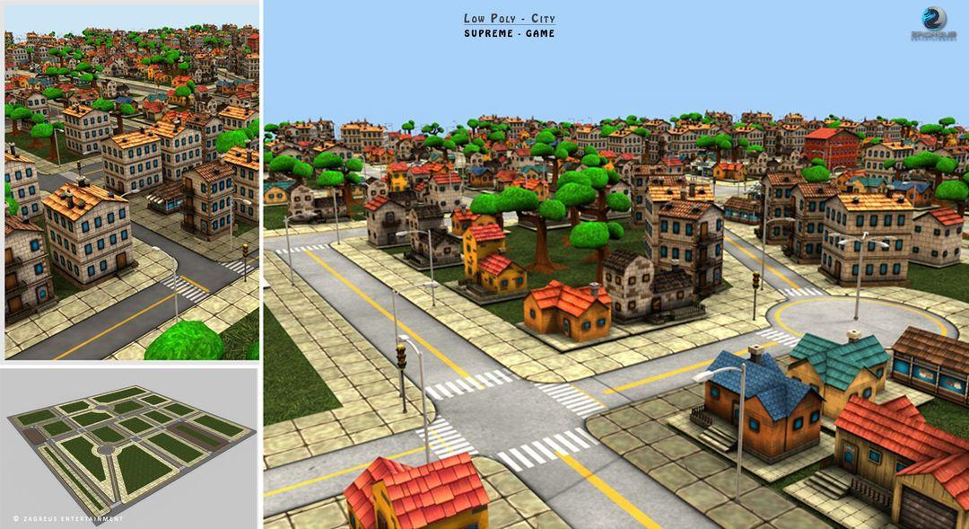 3D Gaming Props (vehicles, guns, house, machine etc) City Pizza ZE jpg