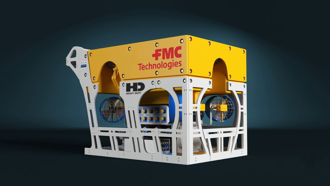 FCM HD ROV 3D model FMC HD ROV 3D model 2 jpg