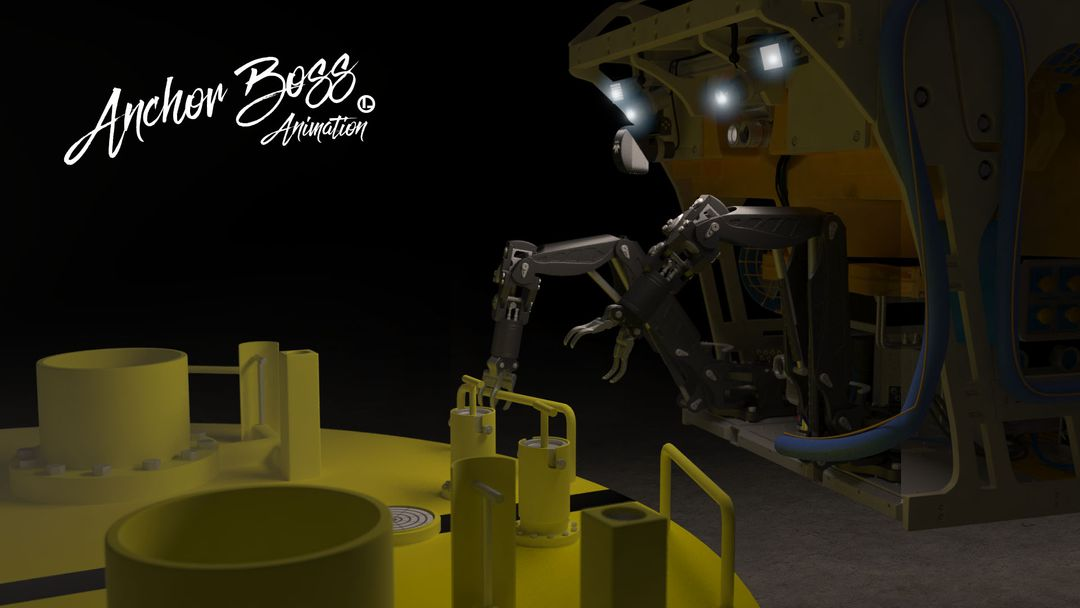 Vortex Dredge System - 3D model and animation product 3D animation 6 jpg