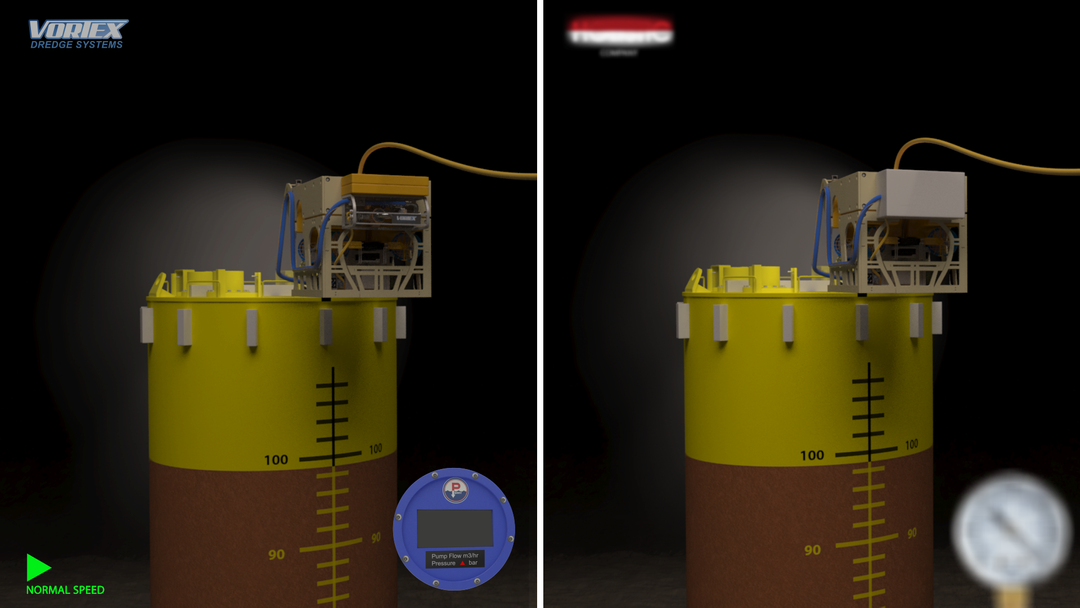 Vortex Dredge System - 3D model and animation product 3D animation 8 png