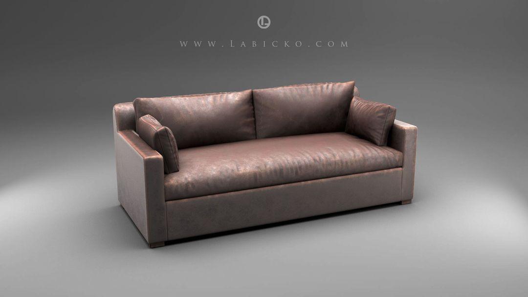 Furniture 3D models Leather Sofa 3D Model WebGL 1 jpg
