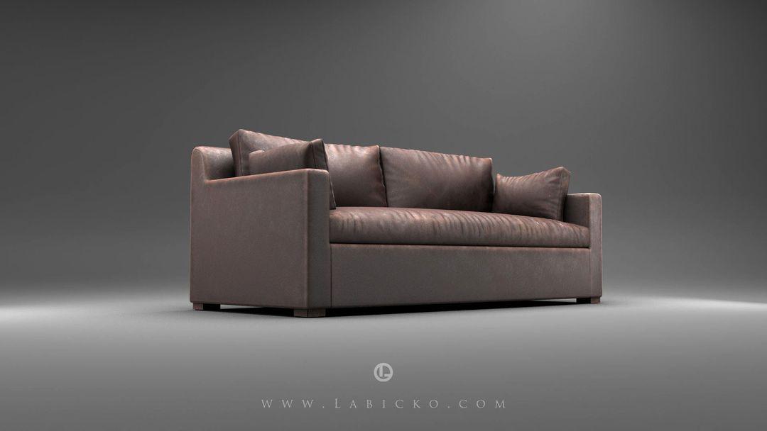 Furniture 3D models Leather Sofa 3D Model WebGL 2 jpg