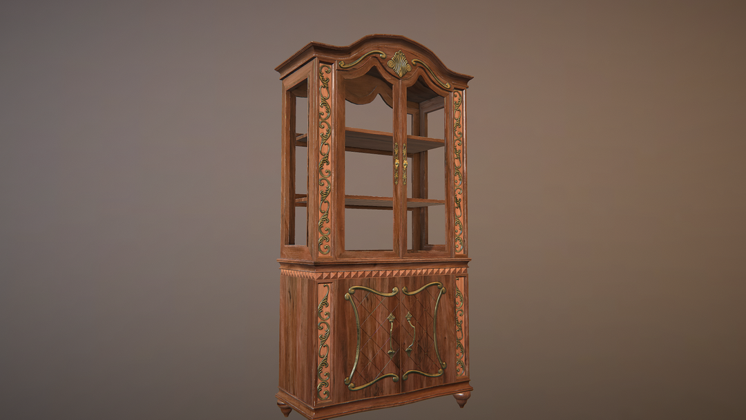 Game props Cabinet png