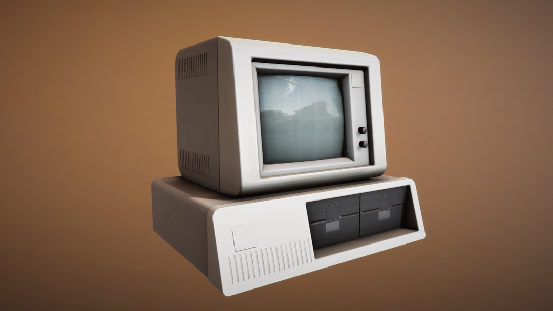 Game props Computer png