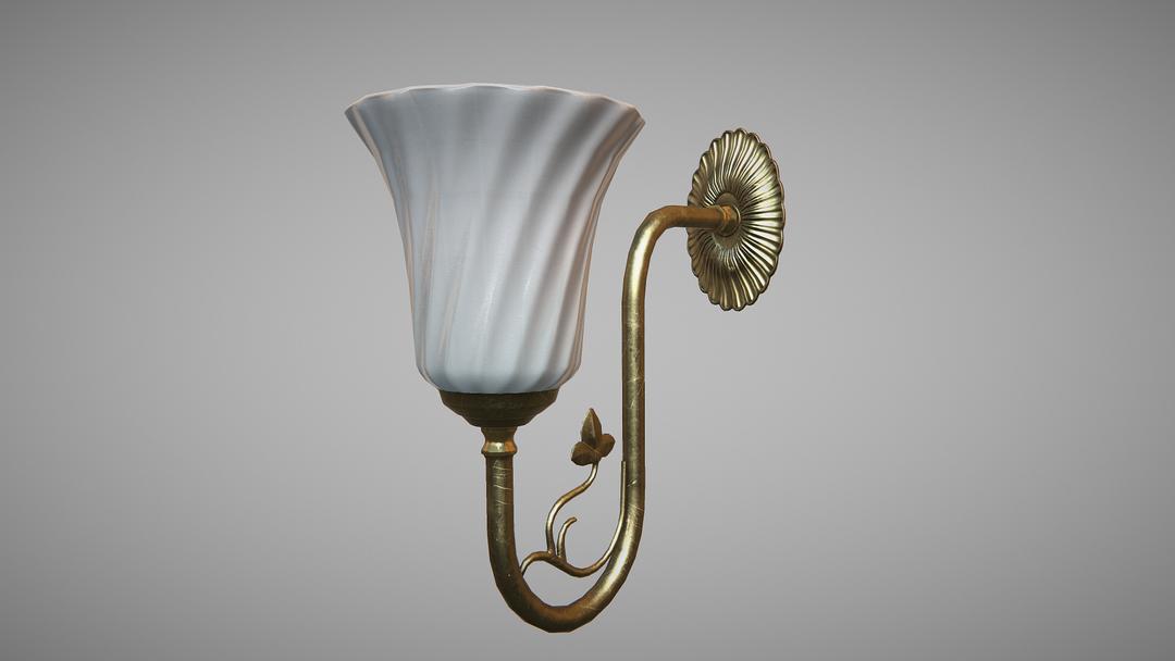 Game props Lamp png