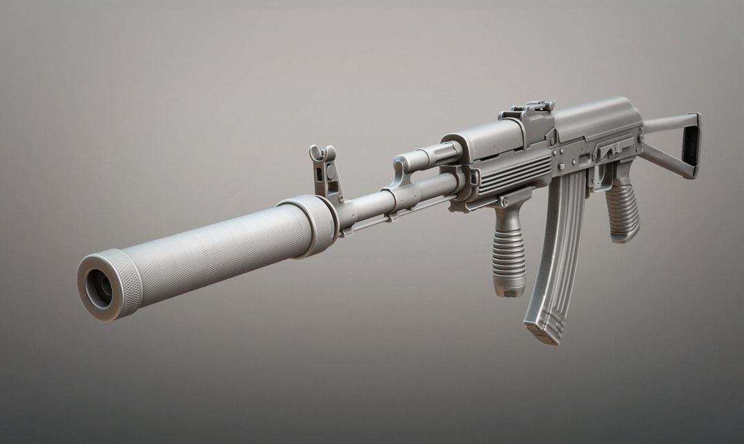 Highpoly hardsurface work AK 74M jpg