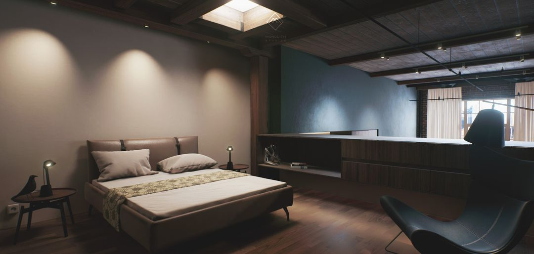 Unreal Engine - San Francisco Loft I Architectural Visualization jay patel 06 jpg
