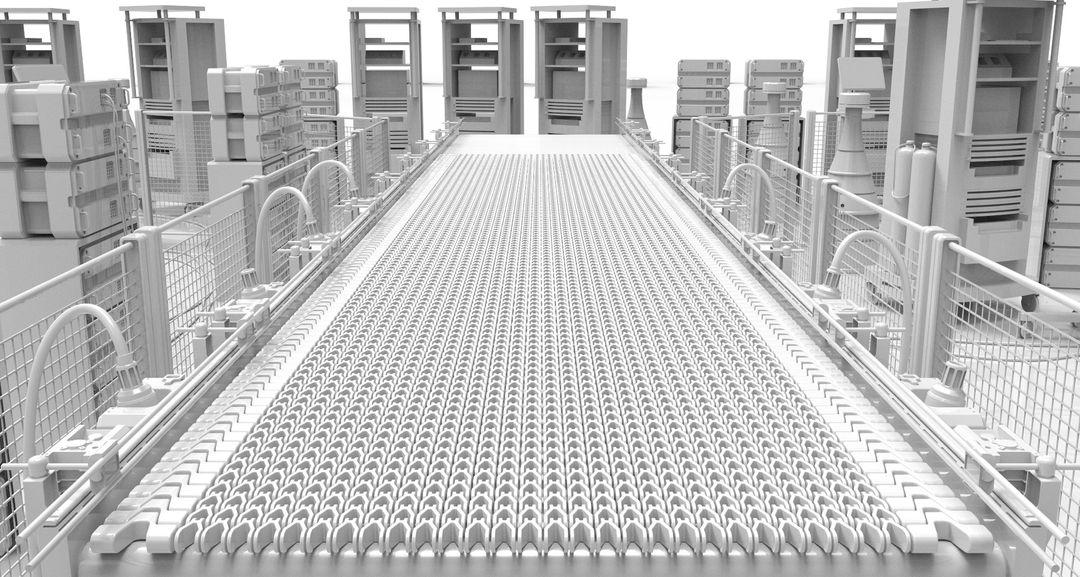 Hard Surface 3D Modeling Robotic Arms max emski 4 wip stage 4 white v2 jpg
