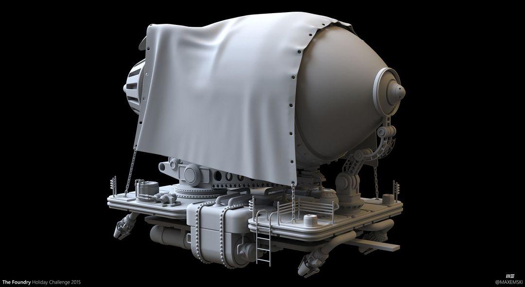 Hard Surface 3D Modeling. The Foundry Express. max emski tfhc15 mari maxemski jpg