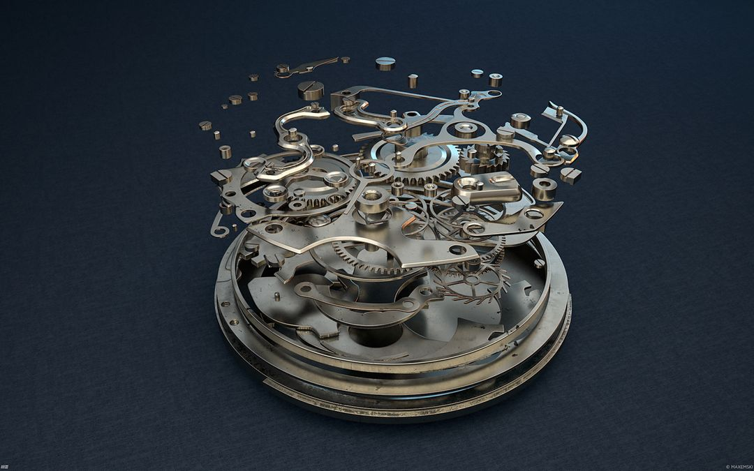 Hard Surface 3D Modeling. Old Watch. Subdivision modeling. 5936e845976117 5843d574c1ac6 jpg