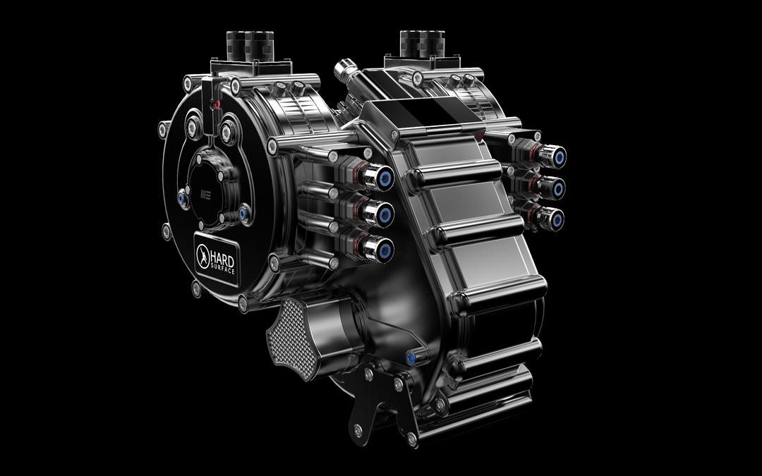 Hard Surface 3D Modeling - Engine 3f1dba54543747 595f8d5138652 png
