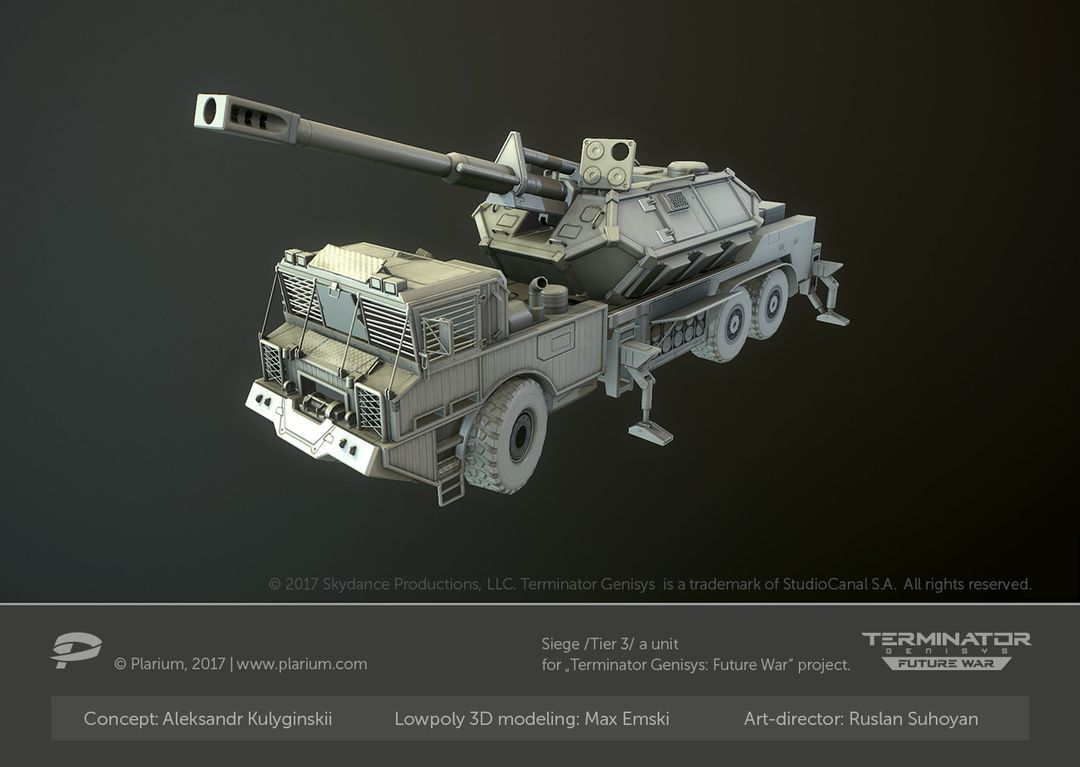 Hard Surface 3D Modeling for Games. High Poly and Low Poly 3D Models. max emski r siege t3 low poly jpg