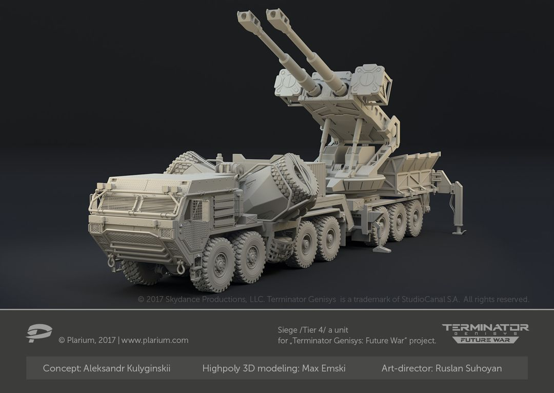 Hard Surface 3D Modeling for Games. High Poly and Low Poly 3D Models. max emski r siege t4 high poly jpg