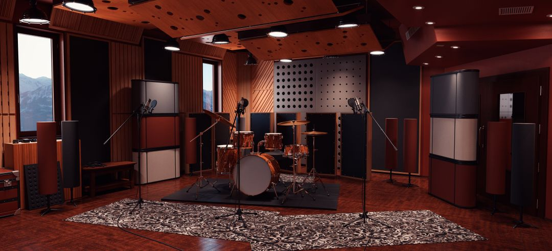 Work for clients Recording Room jpg