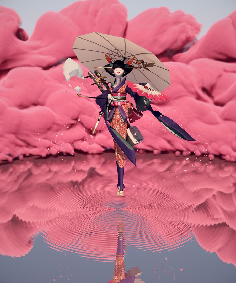 Sample Works Geisha 02c PN01 big Cloud PP jpg