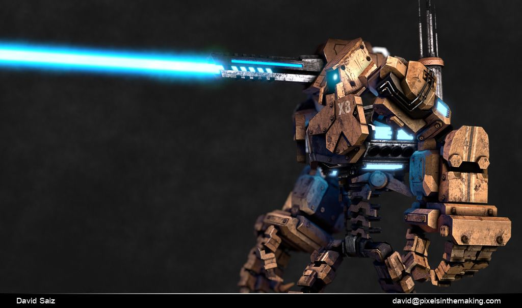Some Character work robot 03 jpg