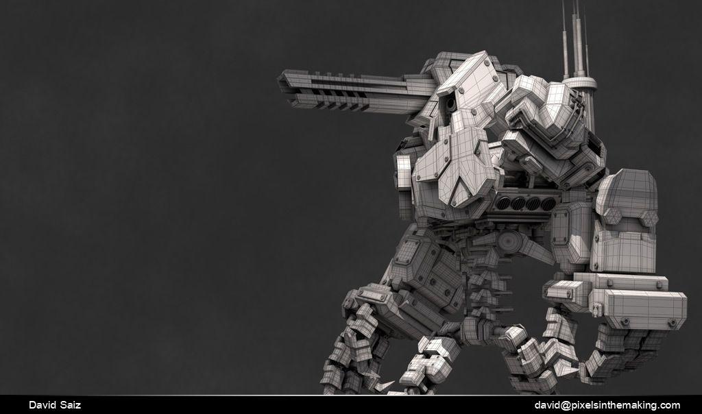 Some Character work robot 04 jpg