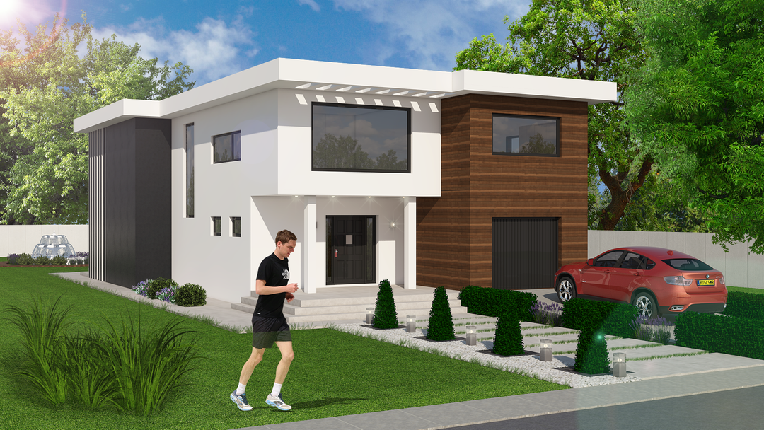 Residential house project 98b28a30408573 5625367517ab7 png