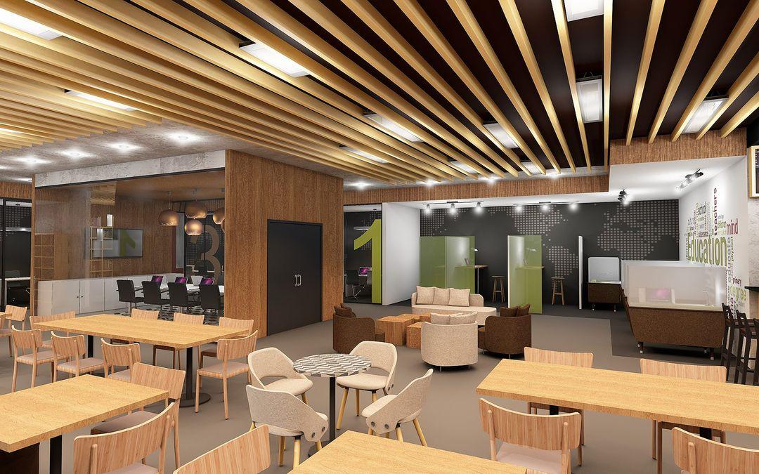 Coworking space / Coffee Shop Interior design c4c4f446330647 585046f0564e5 jpg
