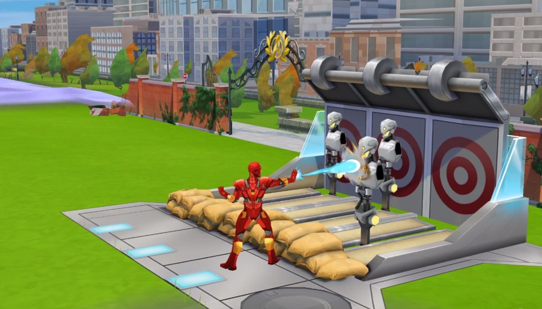 Avengers Academy Mobile 3D Game Assets and Animation Neko AvengersGame 03 jpg
