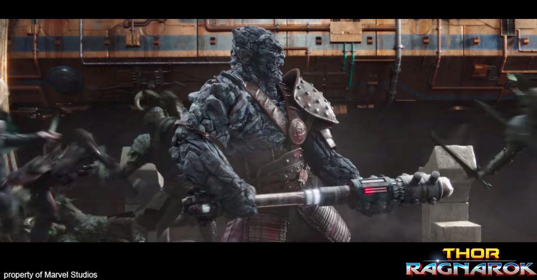 Creature/Character Sculpts For Marvel Studios Thor: Ragnarok trailer CGH768 1 jpg
