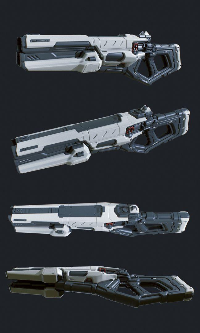 Hard Surface Weapon AR P Hard Surface 01 jpg