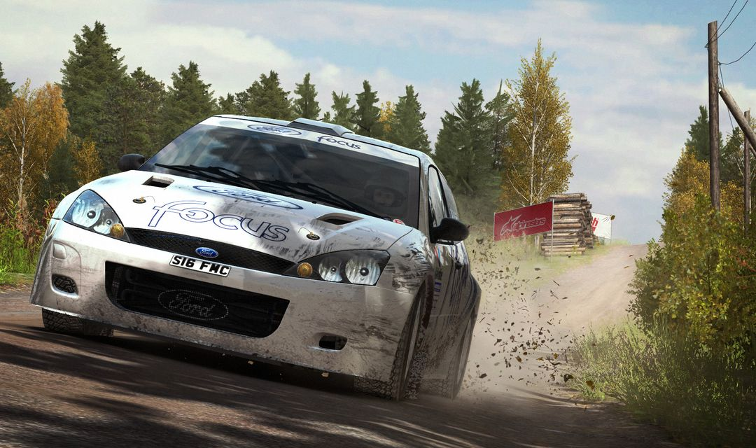 Ford Focus, Hyundai i20 and Lancia Fulvia for DiRT Rally Game dirt rally ford focus finland jpg