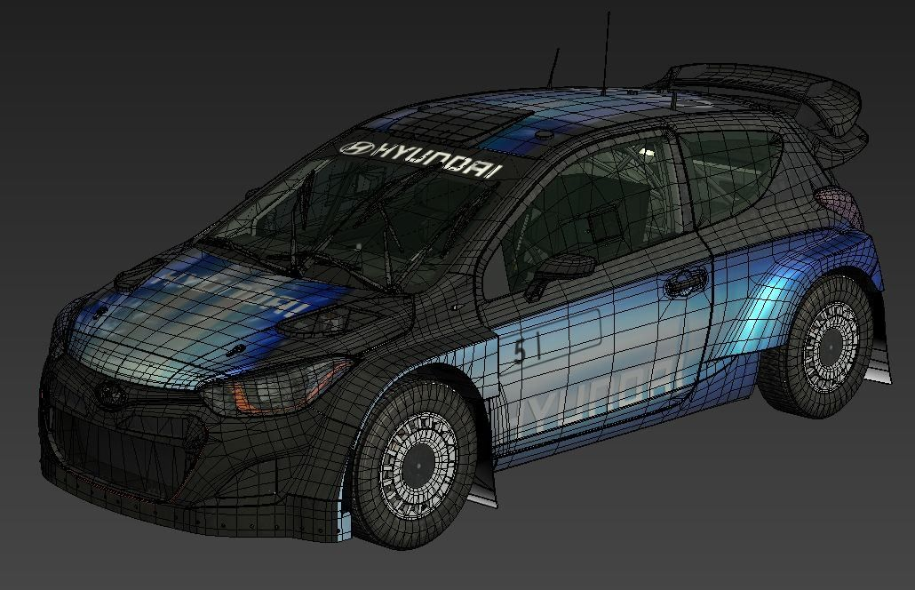 Ford Focus, Hyundai i20 and Lancia Fulvia for DiRT Rally Game dirt rally hyundai i20 wire jpg