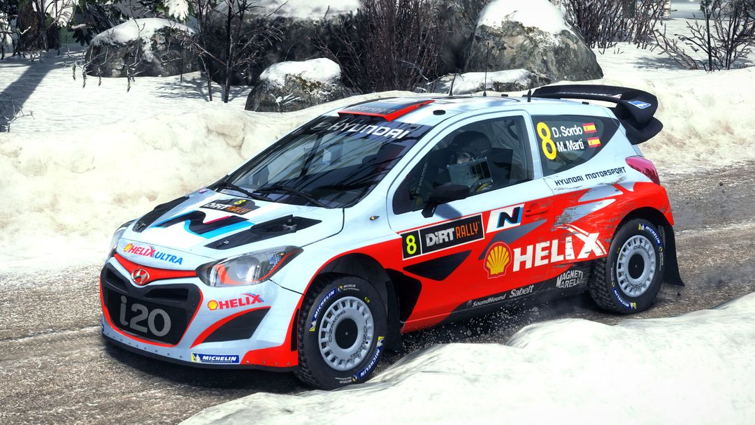 Ford Focus, Hyundai i20 and Lancia Fulvia for DiRT Rally Game dirt rally hyundai i20 jpg