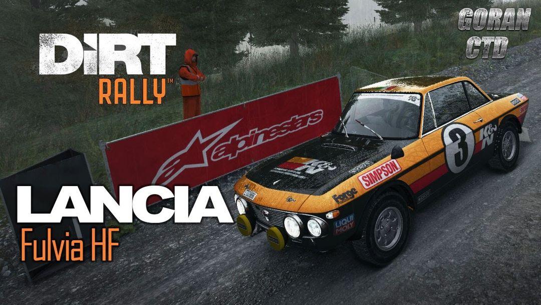 Ford Focus, Hyundai i20 and Lancia Fulvia for DiRT Rally Game dirt rally lancia fulvia hf jpg