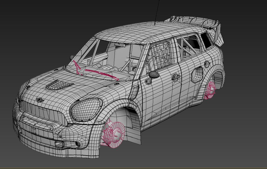 Renualt 5 Turbo, Volkswagon Golf and Mini Country for DiRT Rally Game dirt rally mini wrc nobre wire jpg