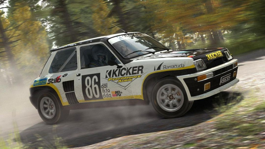 Renualt 5 Turbo, Volkswagon Golf and Mini Country for DiRT Rally Game dirt rally renault 5 turbo finland jpg