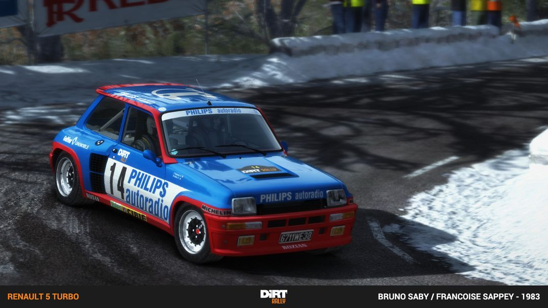 Renualt 5 Turbo, Volkswagon Golf and Mini Country for DiRT Rally Game dirt rally renault 5 turbo saby 1983 jpg