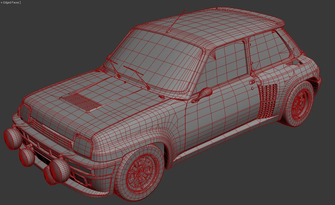 Renualt 5 Turbo, Volkswagon Golf and Mini Country for DiRT Rally Game dirt rally renault 5 turbo wire jpg