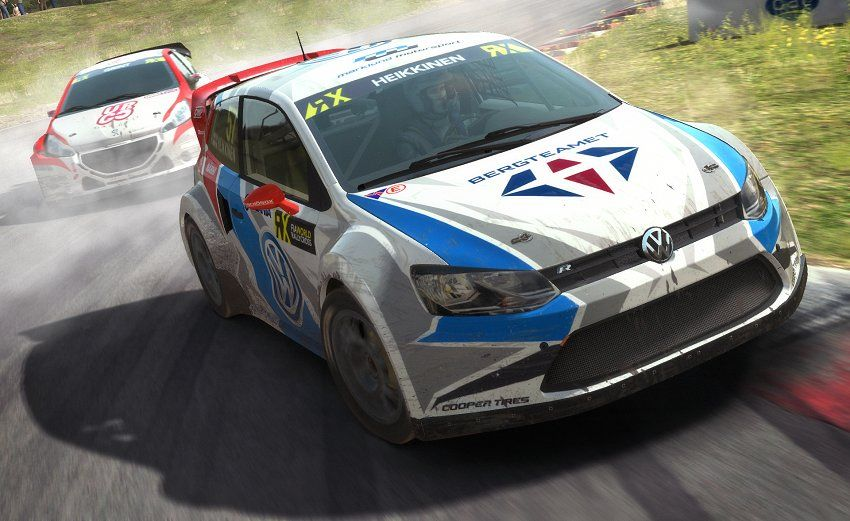 Renualt 5 Turbo, Volkswagon Golf and Mini Country for DiRT Rally Game dirt rally vw golf rx jpg