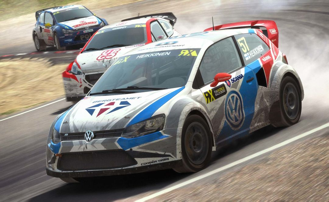 Renualt 5 Turbo, Volkswagon Golf and Mini Country for DiRT Rally Game dirt rally vw golf jpg