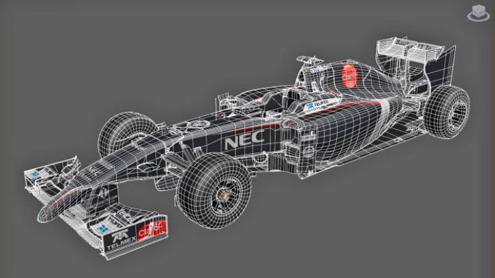 Formula 1 Vehicles Created for F1 2014 f1 2014 wire jpg