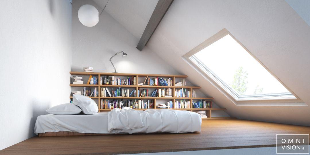 Architectural visualization Minimal Bedroom LOGO jpg