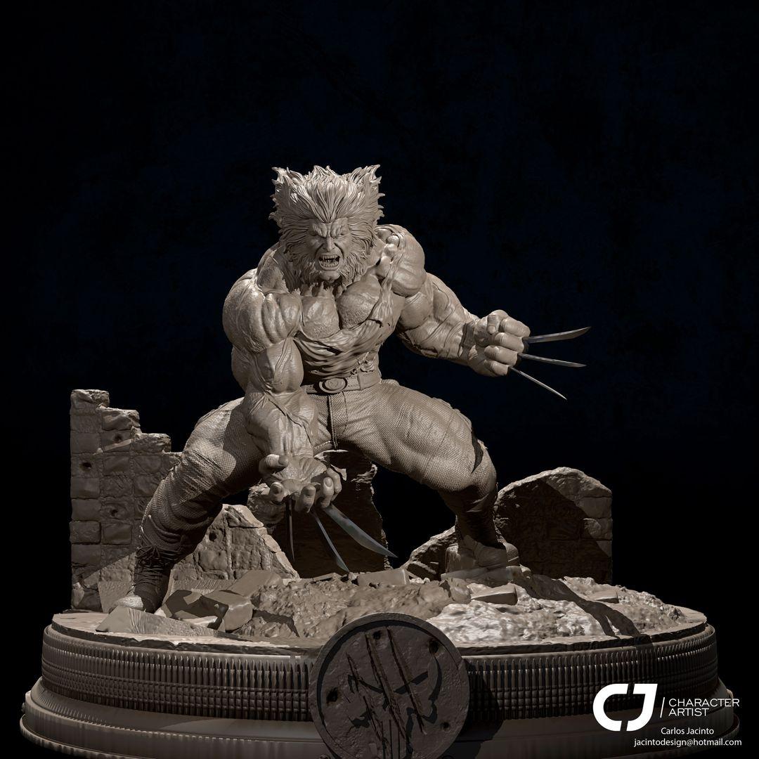 3D Character Portfolio Wolvie 1 jpg