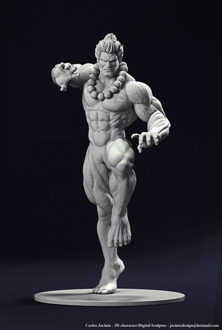 3D Character Portfolio carlos jacinto akuma beauty jpg