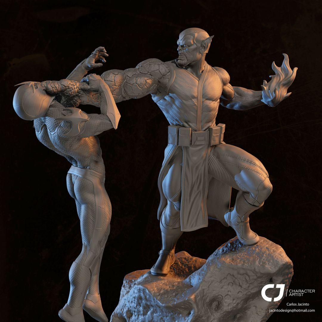 3D Character Portfolio carlos jacinto clay jpg