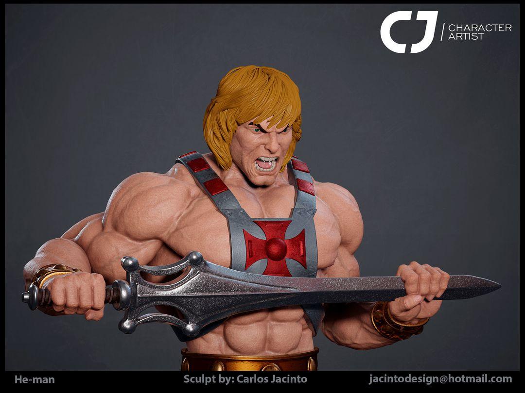 3D Character Portfolio carlos jacinto heman color render2 jpg