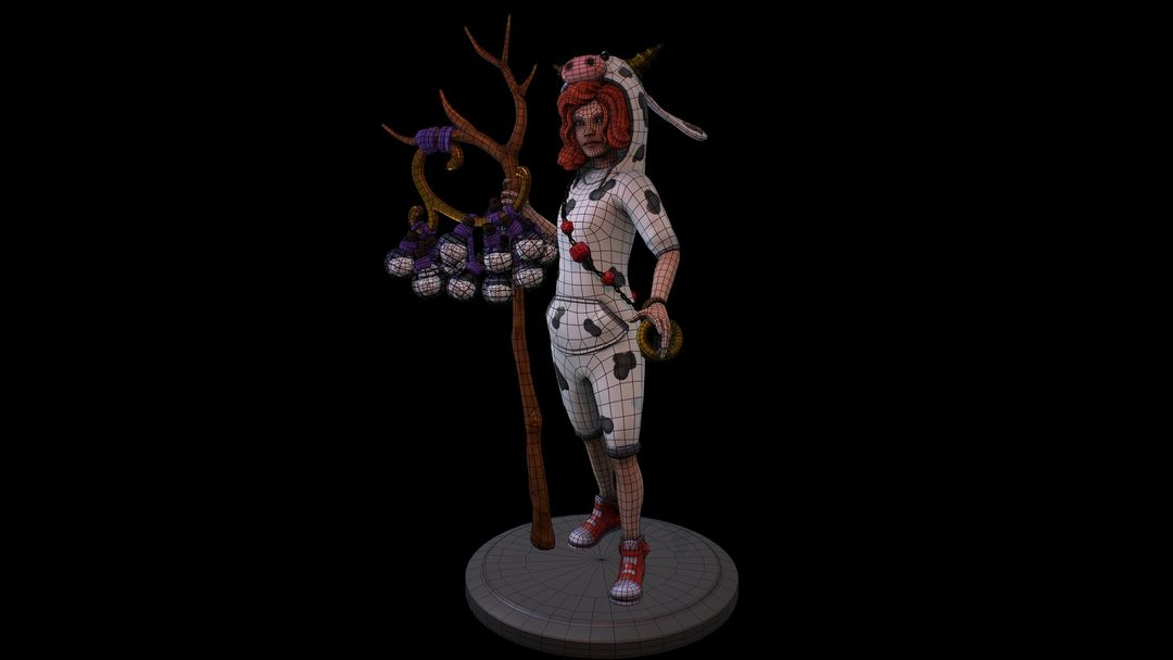 Characters denis sidelnikov gyuu wireframe jpg