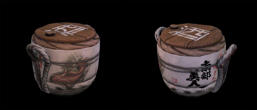 Props denis sidelnikov sake render jpg